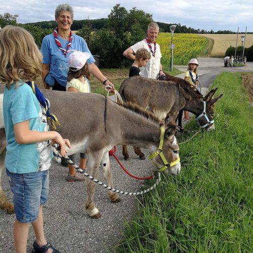 Danke an Gitti und Thomas, für die tolle Heimstunde in der Eselei in Magersdorf